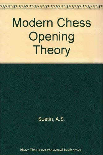 9780080111995: Modern Chess Opening Theory