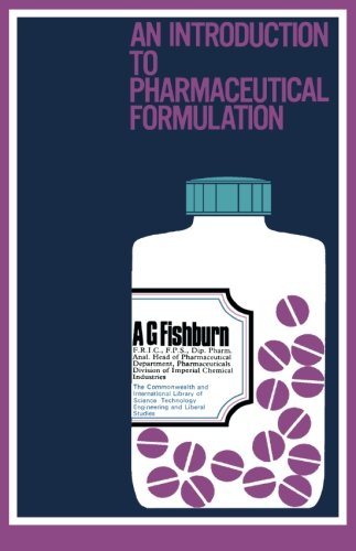 9780080112435: An Introduction to Pharmaceutical Formulation: The Commonwealth and International Library: Pharmacy and Pharmaceutical Chemistry