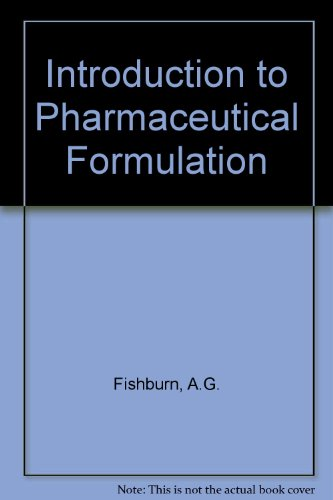 9780080112442: Introduction to Pharmaceutical Formulation