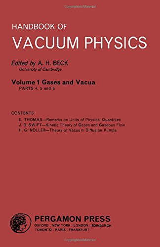 9780080112978: Handbook of Vacuum Physics: Vol 1