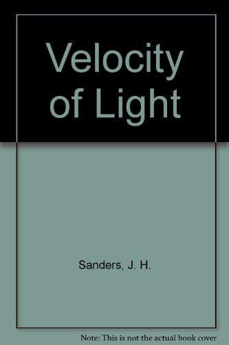 9780080113142: Velocity of Light