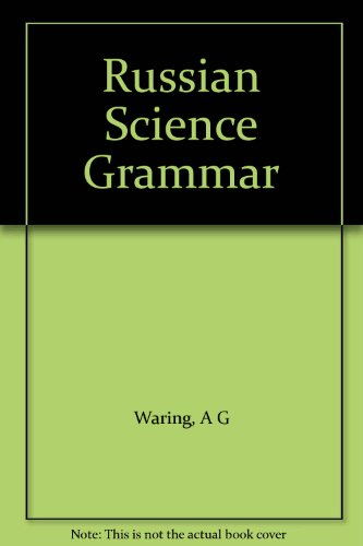 9780080113418: Russian Science Grammar