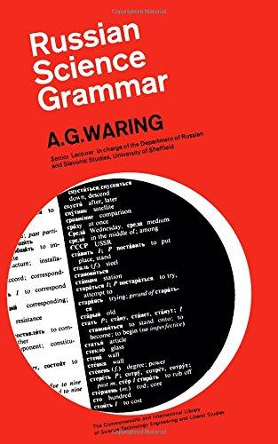 9780080113425: Russian Science Grammar