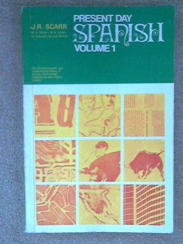 9780080115528: Present Day Spanish: v. 1