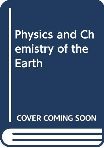 9780080117652: Physics and Chemistry of the Earth 7.