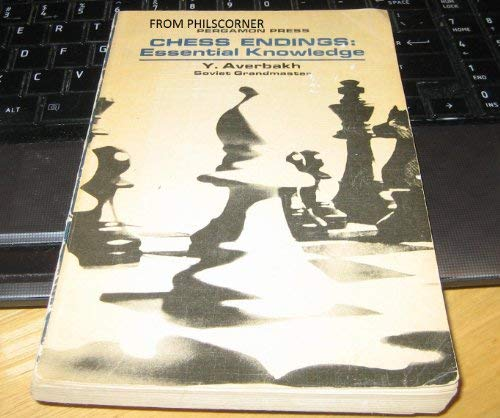 9780080118239: Chess Endings Essential Knowledge