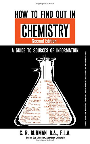 9780080118819: How to Find Out in Chemistry