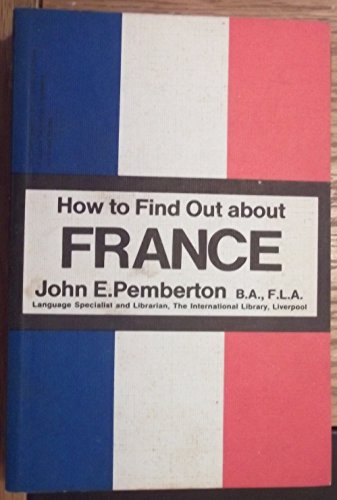 How To Find Out About France Pemberton, J E