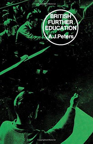 9780080118932: British Further Education