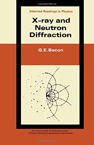 9780080119991: X-Ray and Neutron Diffraction