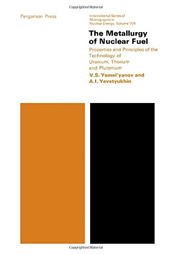 9780080120737: The Metallurgy of Nuclear Fuel: Properties and Principles of the Technology of Uranium, Thorium and Plutonium