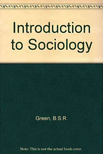 9780080121550: Introduction to Sociology