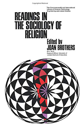 9780080121871: Readings in the Sociology of Religion: The Commonwealth and International Library: Readings in Sociology