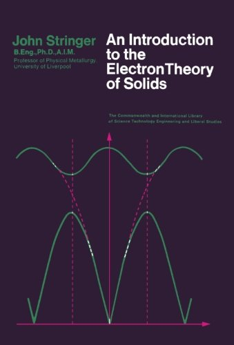 9780080122199: An Introduction to the Electron Theory of Solids: Metallurgy Division