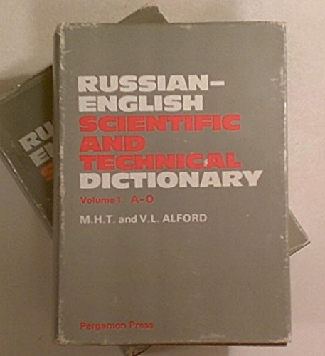 9780080122274: Russian-English, English-Russian Scientific and Technical Dictionary