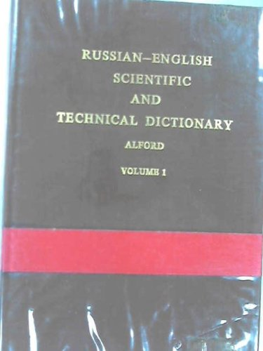 9780080122274: Russian-English Scientific and Technical Dictionary (2 Volumes)