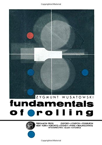 9780080122762: Fundamentals of rolling