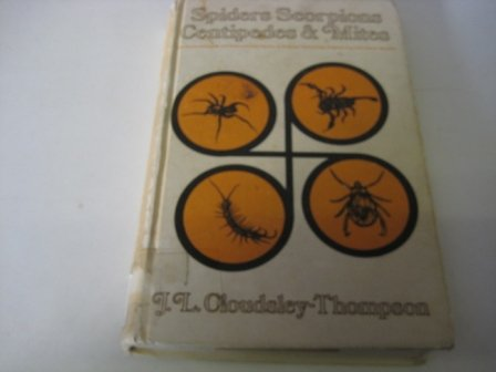 9780080123233: Spiders, Scorpions, Centipedes and Mites (The Commonwealth and international library. Biology division)