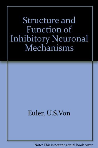 9780080124148: Structure and Function of Inhibitory Neuronal Mechanisms.