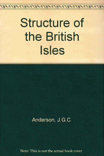 9780080124230: Structure of the British Isles