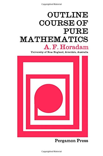 9780080125930: Outline Course of Pure Mathematics