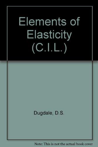 9780080126333: Elements of Elasticity (C.I.L.)