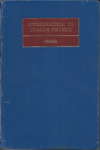 9780080128214: Introduction to Health Physics