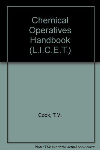 9780080128467: A chemical operatives' handbook,