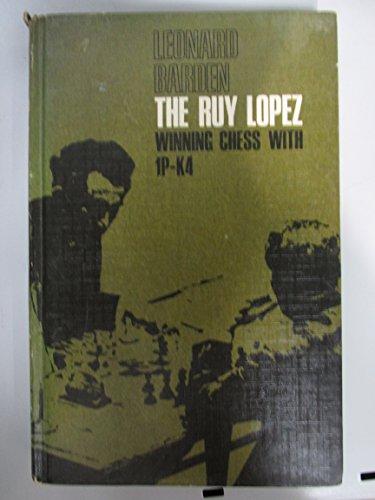 9780080130064: Ruy Lopez Winning Chess With 1P K4
