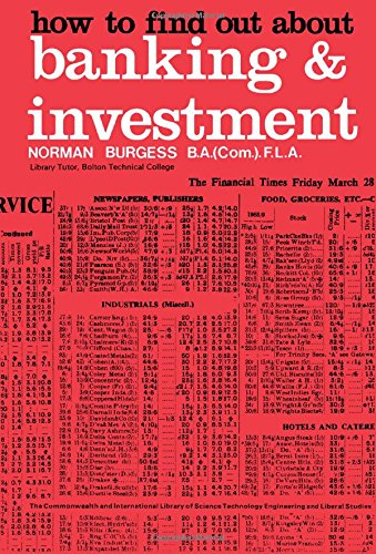 How to Find Out About Banking and Investment (C.I.L.): Burgess, N.