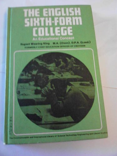 9780080132150: English Sixth-form College (The commonwealth and international library. Education and educational research division)