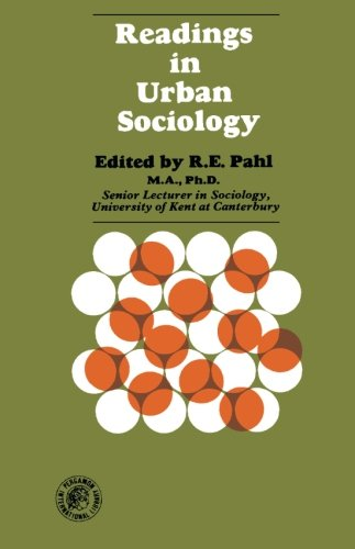 9780080132938: Readings in Urban Sociology: Readings in Sociology