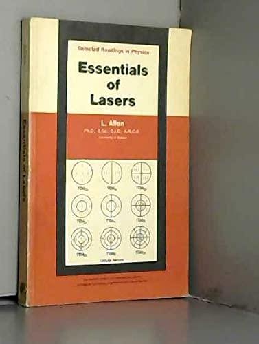 9780080133195: Essentials of Lasers
