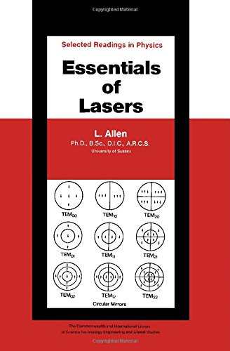 9780080133201: Essentials of Lasers (Selected Readings in Physics)