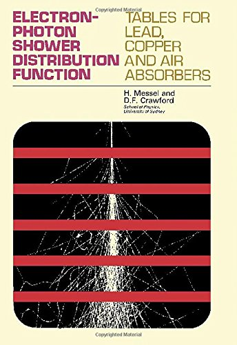 9780080133744: Electron--photon shower distribution function;: Tables for lead, copper, and air absorbers,