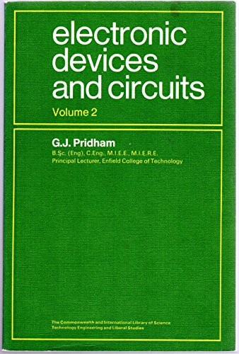 9780080134604: Electronic Devices and Circuits: v. 2 (C.I.L.)