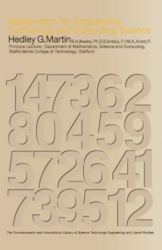 9780080139609: Mathematics for Engineering, Technology and Computing Science: The Commonwealth and International Library: Electrical Engineering Division (C.I.L.)