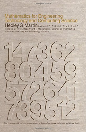 9780080139616: Mathematics for Engineering Technology and Computing Science (C.I.L.)