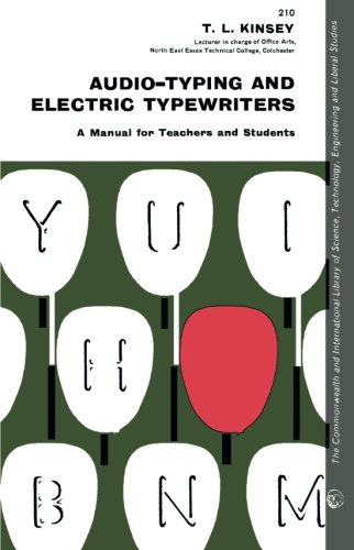 9780080139937: Audio-Typing and Electric Typewriters: A Manual for Teachers and Students