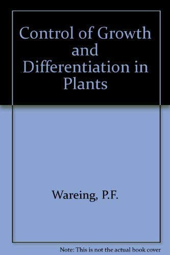 9780080155005: Control of Growth and Differentiation in Plants