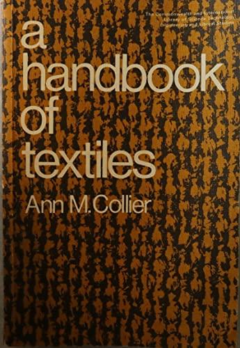 9780080155470: Handbook of Textiles (C.I.L.)