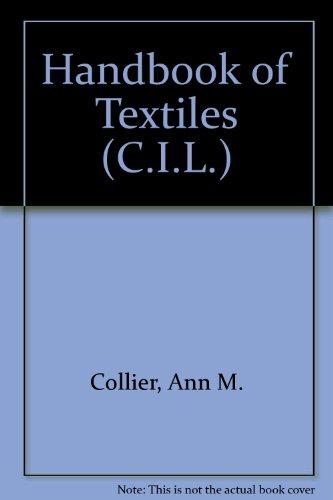 9780080155487: Handbook of Textiles (C.I.L.)