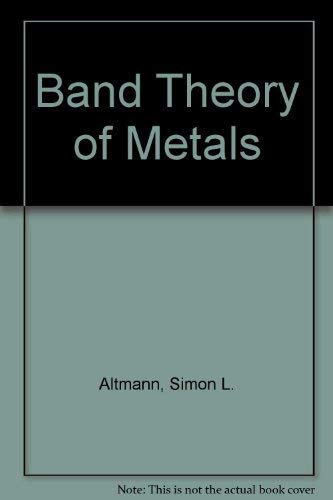 9780080156019: Band Theory of Metals.