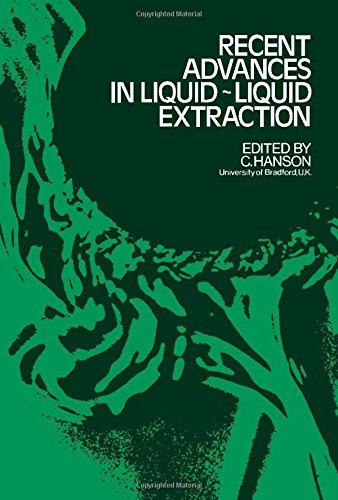 9780080156828: Recent advances in liquid-liquid extraction