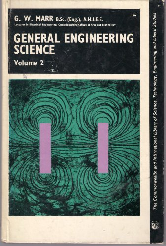 9780080158075: General Engineering Science: v. 2 (C.I.L.)
