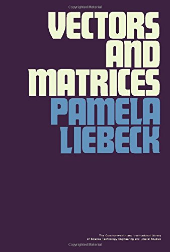 9780080158235: Vectors and Matrices