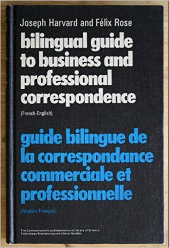 9780080159737: Bilingual Guide to Business and Professional Correspondence: English-French (Pergamon Oxford Bilingual) (English and French Edition)