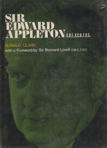 9780080160931: Sir Edward Appleton,