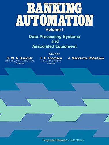 9780080161204: Banking automation (Pergamon electronics data series)