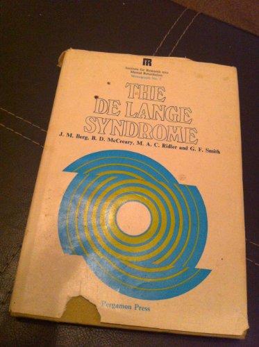 9780080161259: The De Lange syndrome,